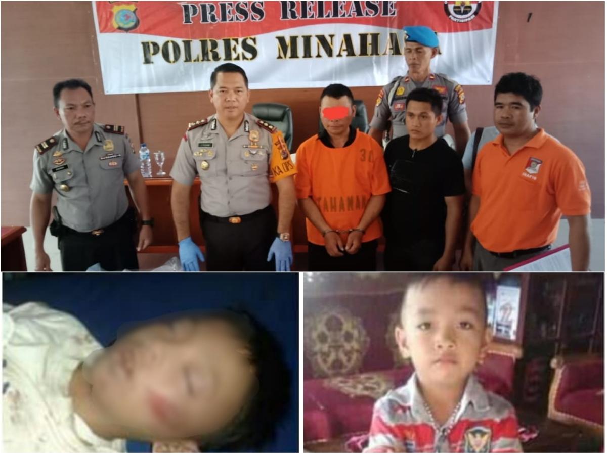 Terungkap!! Pembunuh Bocah 7 Tahun di Kakas Adalah Ayahnya Sendiri