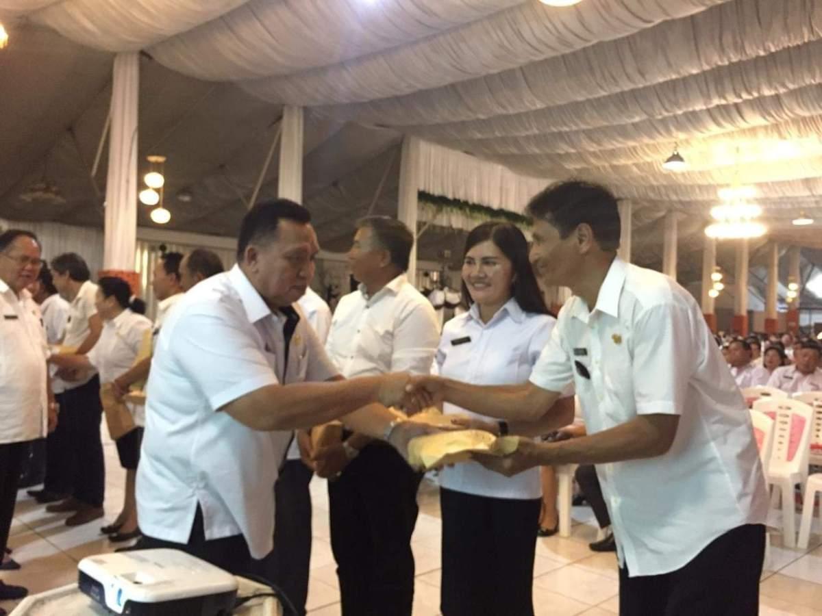 Wabup RD Minta Kumtua Hindari Penyimpangan Penggunaan Dana Desa
