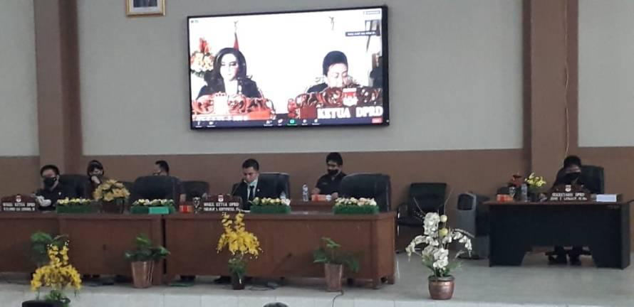 Tiga agenda Rapat Paripurna DPRD Minsel 2